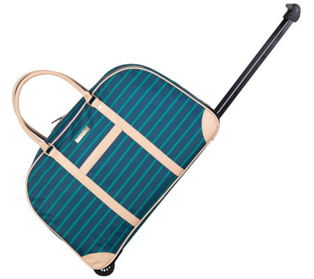Isaac Mizrahi Riviera Wheeled Dome Duffel Bag