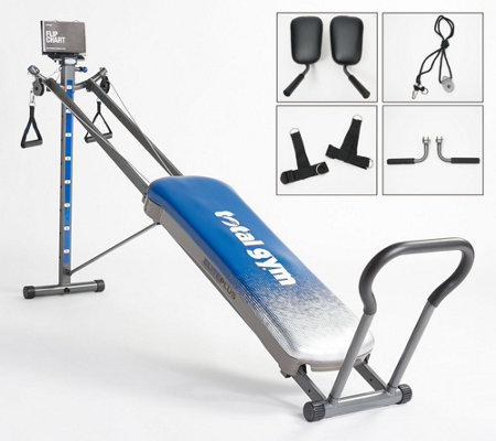 Total Gym Elite Plus with 8 Resistance Levels and Pilates Kit