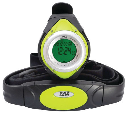 Pyle PHRM38GR Heart Rate Monitor Watch - Green