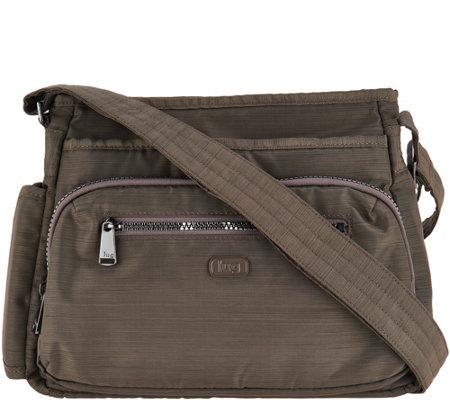 c0cfce92fd8c Lug Medium Crossbody Handbag with RFID - Shimmy - Page 1 — QVC.com