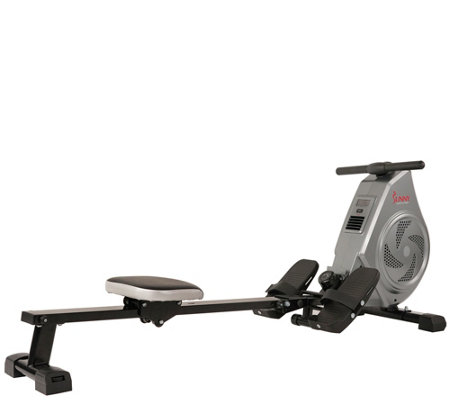 Sunny Health Fitness Air Magnetic Rowing Machine