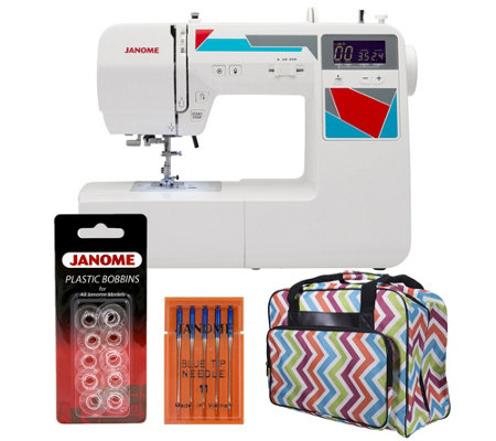 Janome MOD-100 Computerized Sewing Machine withAccessories