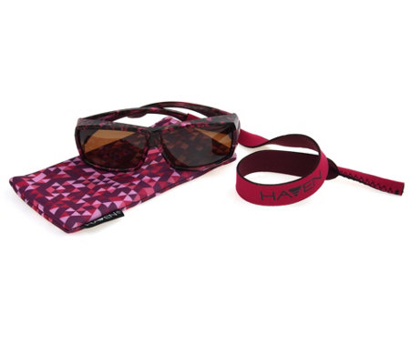 Haven Fits Over Athleisure Sunglasses with Matching Case by Foster Grant