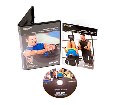 Total Gym Gravity Power Up DVD