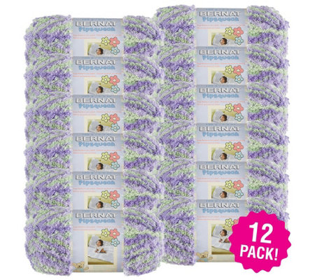 Bernat Multipack Of 12 Pow Pipsqueak Yarn