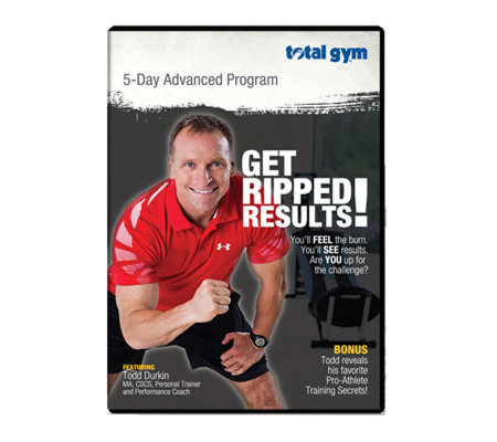 Total Gym Advanced Program DVD