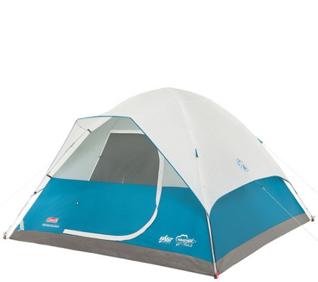 Coleman Longs Peak Fast Pitch Weathertec Six-Person Dome Tent
