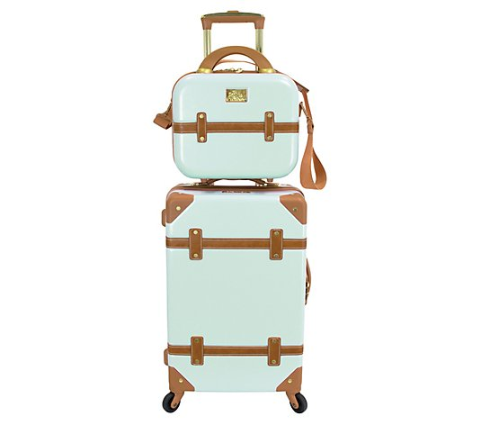 Chariot Gatsby 20'' Carry-On Luggage and Beauty Case