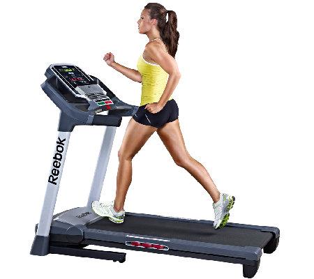 Reebok Competitor RT 5 1 Treadmill — QVC com