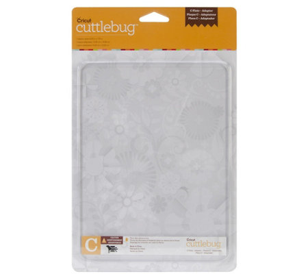 "Cuttlebug 5.875"" x 7.75"" Adapter Plate C"
