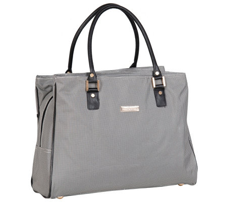 Isaac Mizrahi Greenwich DLX Shopper Tote Bag