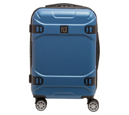 "FUL Molded Detail 21"" Hard-Side Rolling Luggage"
