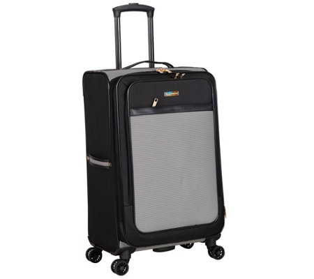 "Isaac Mizrahi Greenwich 24"" 8-Wheel Spinner Luggage"