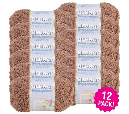 Bernat Multipack Of 12 Pipsqueak Yarn