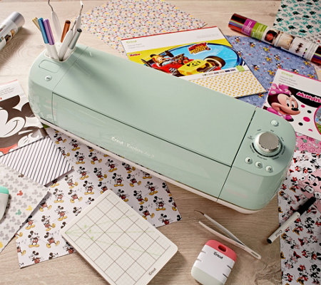Cricut Mint Explore Air 2 Disney Mickey &Minnie Bundle