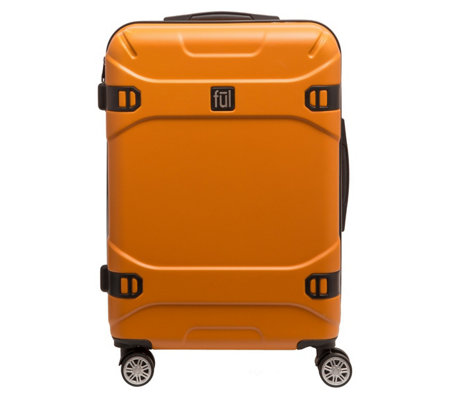 Ful Molded Detail 25 Hard Side Rolling Luggage