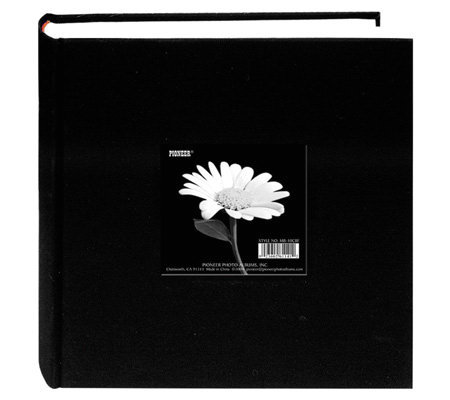 Cloth Photo Album with Frame For Up To 200 4X6Photos