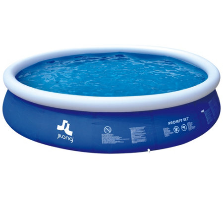 Pool Central 15\' Inflatable Above Ground Swimming Pool — QVC.com