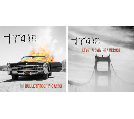 Train Bulletproof Picasso CD & Live in San Francisco CD