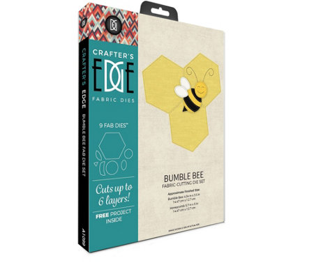Crafter's Edge Bumble Bee & Honeycomb Fab Dies