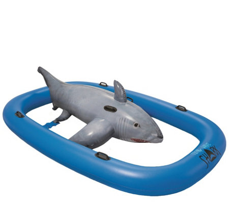 H2Ogo! 10' Tidal Wave Shark Ride Float