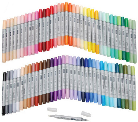 Set of 72 Copic Ciao Markers - Set A