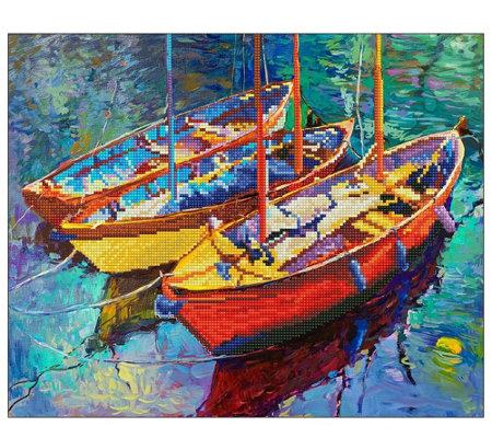 Diamond Dotz Dream Boats Facet Art Kit