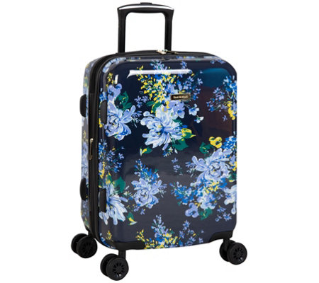 Isaac Mizrahi Inez 22 8 Wheel Hardside Spinnerluggage Navy