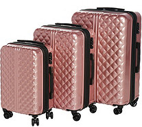 Triforce Luggage 3-Piece Set Spinner Luggage - Provence - F13443