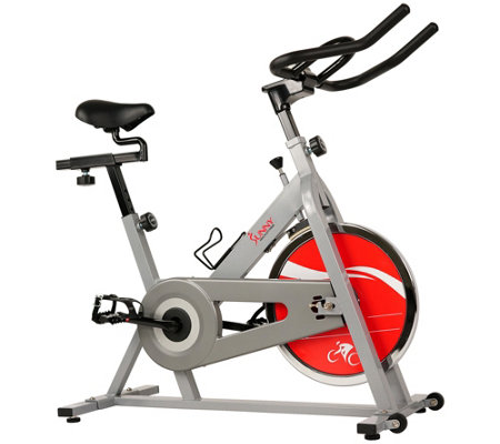 Sunny Health Fitness Sf B1001s Indoor Cyclingbike Silver