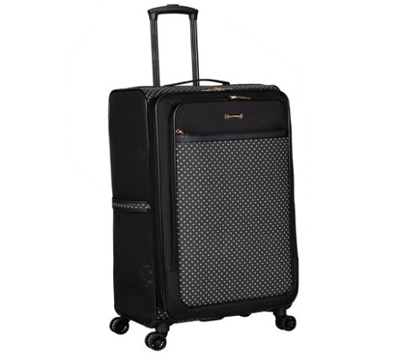 Isaac Mizrahi Quincy 24 8 Wheel Spinner Luggage