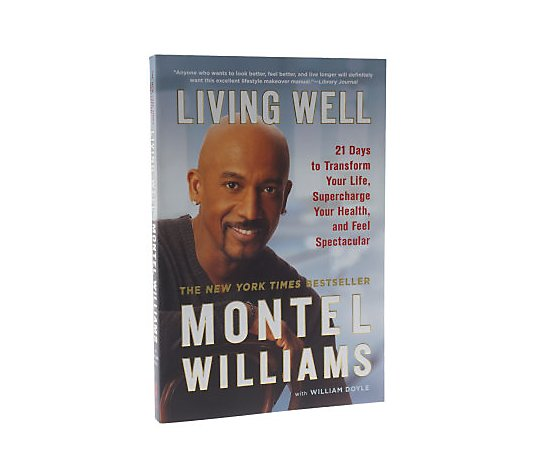 Living Well Food Health Book With Recipes By Montel Williams Qvc Com