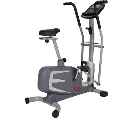 Sunny Health & Fitness Cross Training MagneticUpright Bike