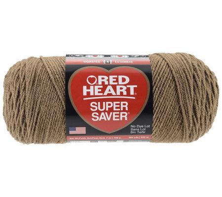 Red Heart Multipack Of 24 Cafe Latte Super Saver Yarn