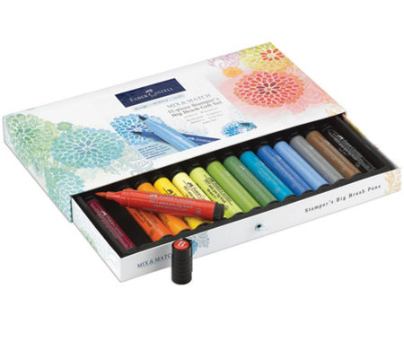 Faber-Castell 15-Piece Stamper's Big Brush PenGift Set