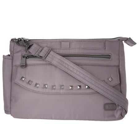 Lug Studded Crossbody Bag - Pacer - Page 1 — QVC.com 2ef88339e822d