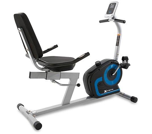 Xterra Fitness Sb120 Seated Bike Qvc Com