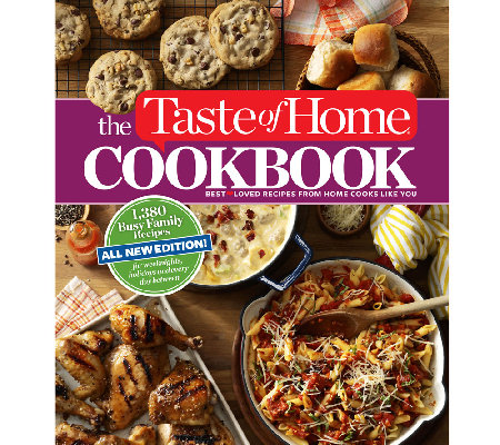 """Taste of Home: Busy Family Edition"" Cookbook"