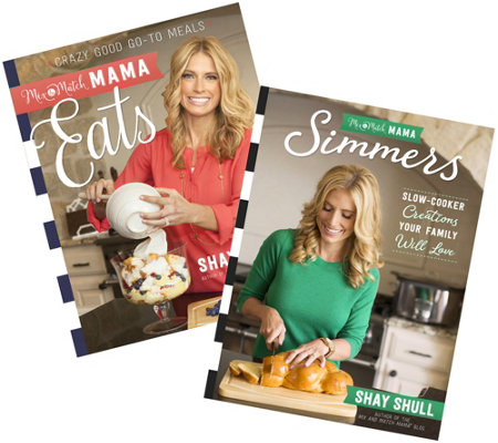 """Eats"" and ""Simmers"" Cookbook Bundle by The Mix and Match Mama"