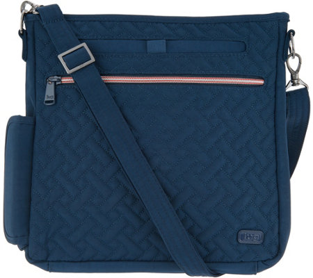 Lug Quilted Crossbody Bag - Somersault