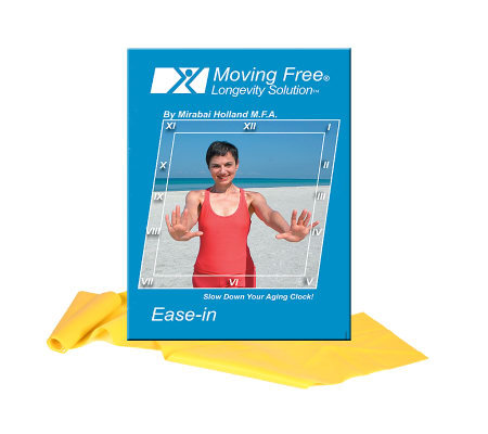 Mirabai Holland Ease-in Exercise DVD & Latex Band