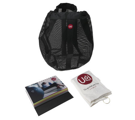 Ugi Fitness On The Go Workout Traveler Kit w/ Carry Bag