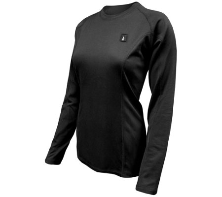 ActionHeat Women's 5V Battery Heated Base LayerShirt