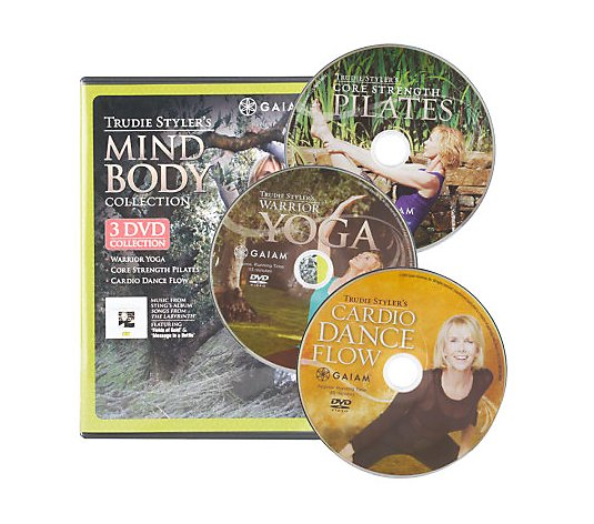 Trudie Styler's Fit Mind and Body 3 DVD Collection