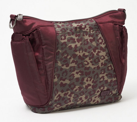 Lug Mixed Print Convertible Crossbody Bag - Mini Shuffle