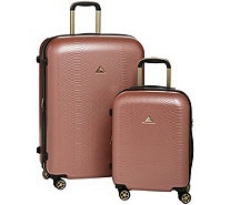Triforce Luggage Set of 2 Spinner Luggage - Everglades - F13361