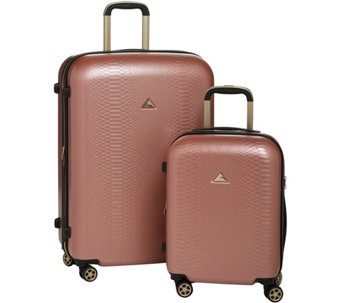 Triforce Luggage Set of 2 Spinner Luggage - Everglades - F13361 1211513873da6