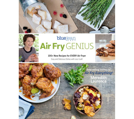 """Air Fry Genius"" Cookbook by Meredith Laurence"