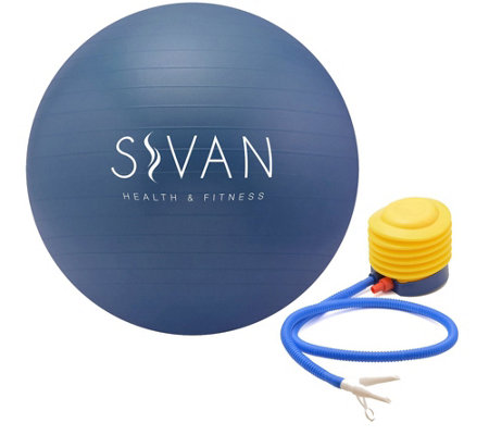 Sivan Health & Fitness Yoga Stability Ball andPump