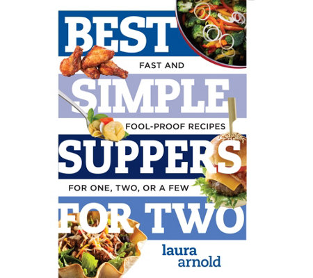 """Best Simple Suppers for Two & Best Sweet Treats for Two"" Cookbook Set"